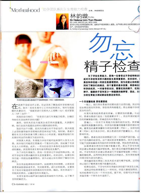 Dr Helena - Feminine Magazine (Sep 2014) JPEG