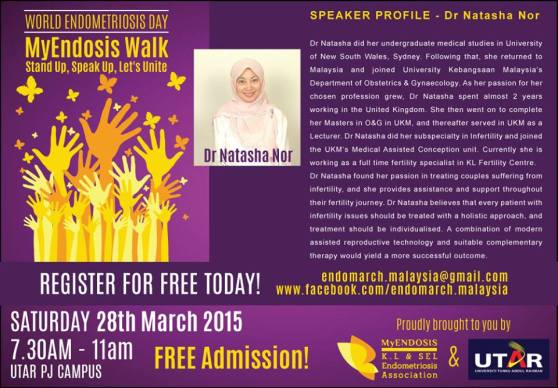 Speaker -Dr Natasha Ain Mohd Nor