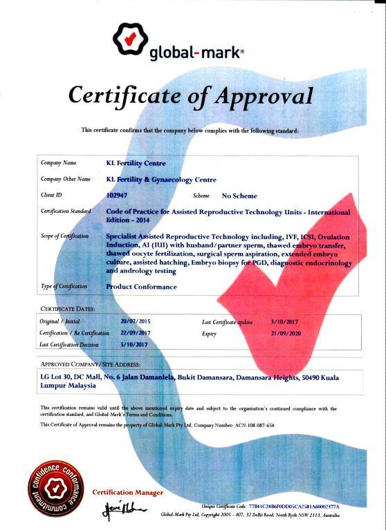 Rtac Certificate (2017-2020)